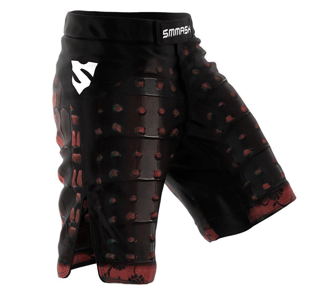 SMMASH MMA Pantalones Cortos SAMURAI S M L XL XXL MMA BJJ UFC Boxen K1 SMMASH X-WEAR