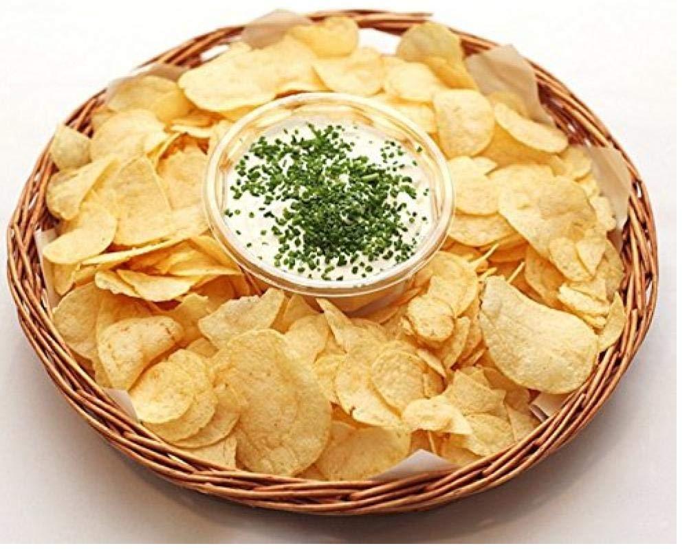 AMOYER DIY Convenient Mikrowelle Handgemachte gesunde Kartoffelchips Ger/ät Crisp Slicer
