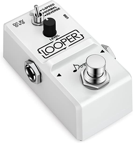 Donner Tiny Looper Guitar Effect Pedal 10 minutes of Looping 3 Modes