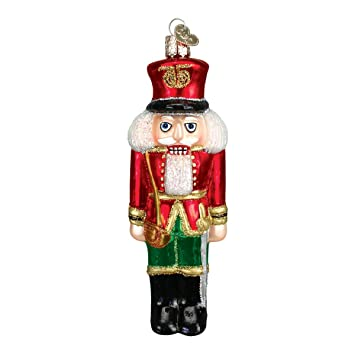 Old World Christmas Ornaments: Soldier Nutcracker Glass Blown Ornaments for  Christmas Tree - Amazon.com: Old World Christmas Ornaments: Soldier Nutcracker Glass