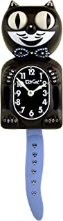 product image for Kit Cat Klock Limited Edition Black Swarovski Crystals Blue/Clear Jeweled Clock