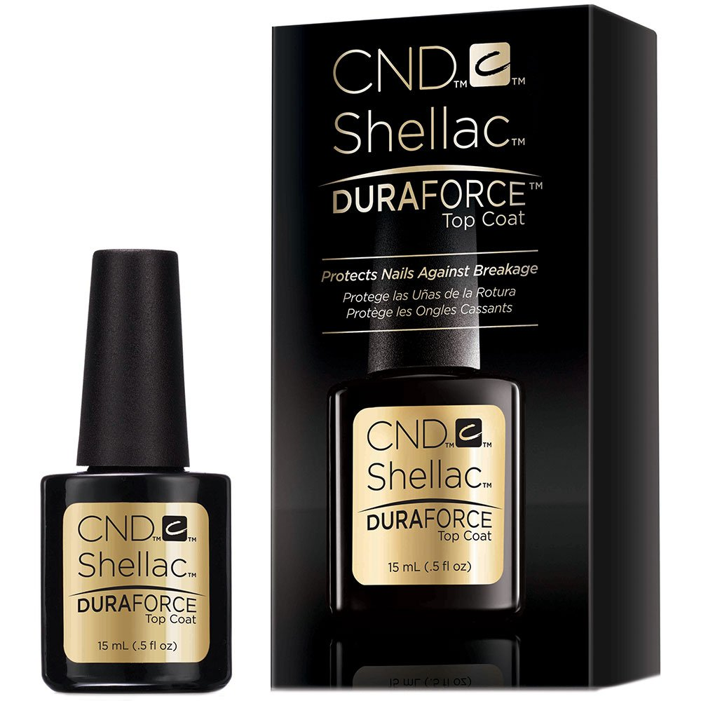Shellac Vernis UV Duraforce Top Coat 15 ml CND CNDNEWCAT254