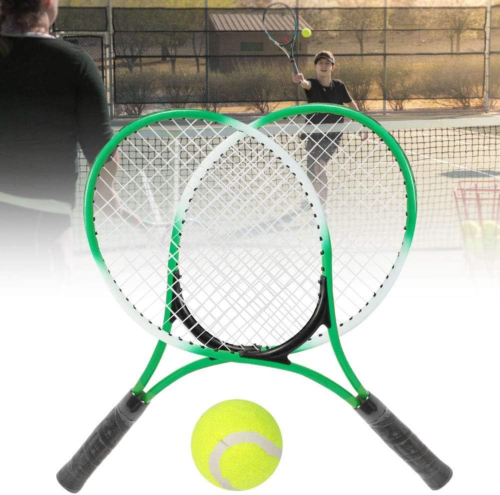 SunshineFace Racchetta da Tennis per Bambini in Lega di Ferro per Racchetta Pratica per Principianti con Palla E Borsa per Il Trasporto