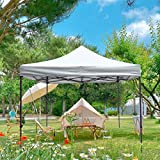 Bumblr 10 ft White Pop Up Canopy Folding Tent