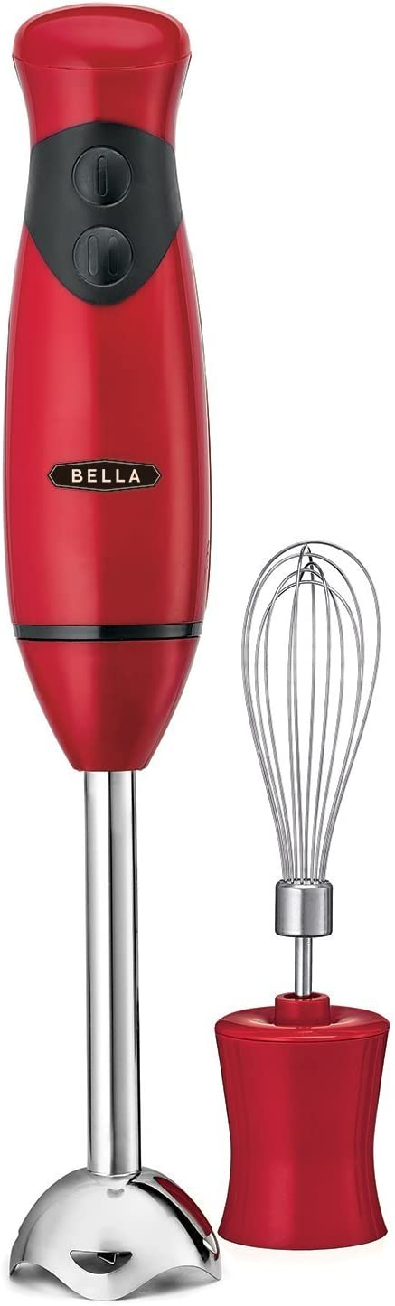 BELLA Hand Immersion Blender with Whisk Attachment: Kitchen & Dining