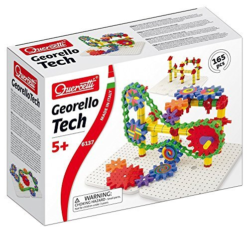 Quercetti Keruchetti colorful gear Georello Tech [parallel import goods]