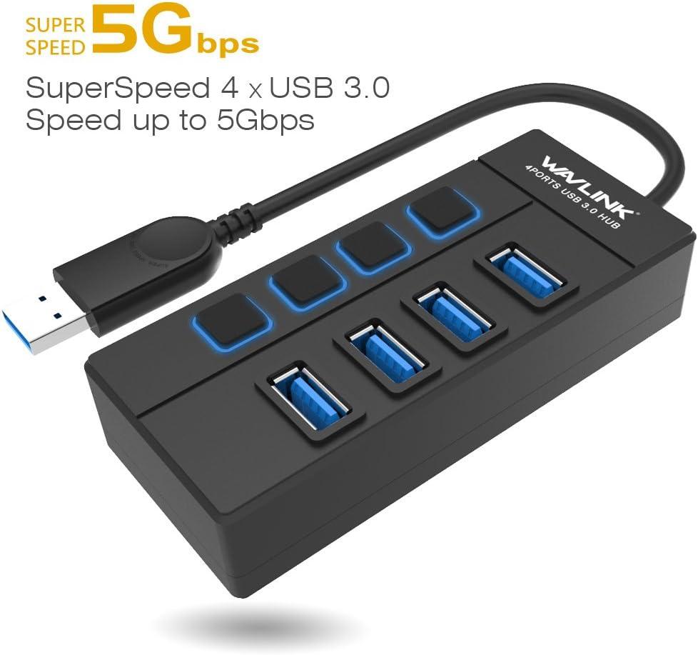 KIMME USB Type C Hub Multi-Function Data Line Type-C Transfer to HDMI//USB3.0//Network Port//SD//TF Converter Seven Port
