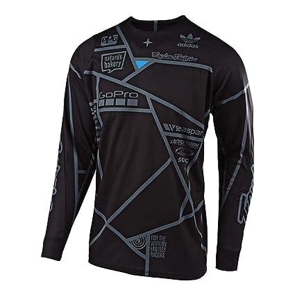 Troy Lee Designs Camiseta De MX 2019 Se Metric Negro (L ...