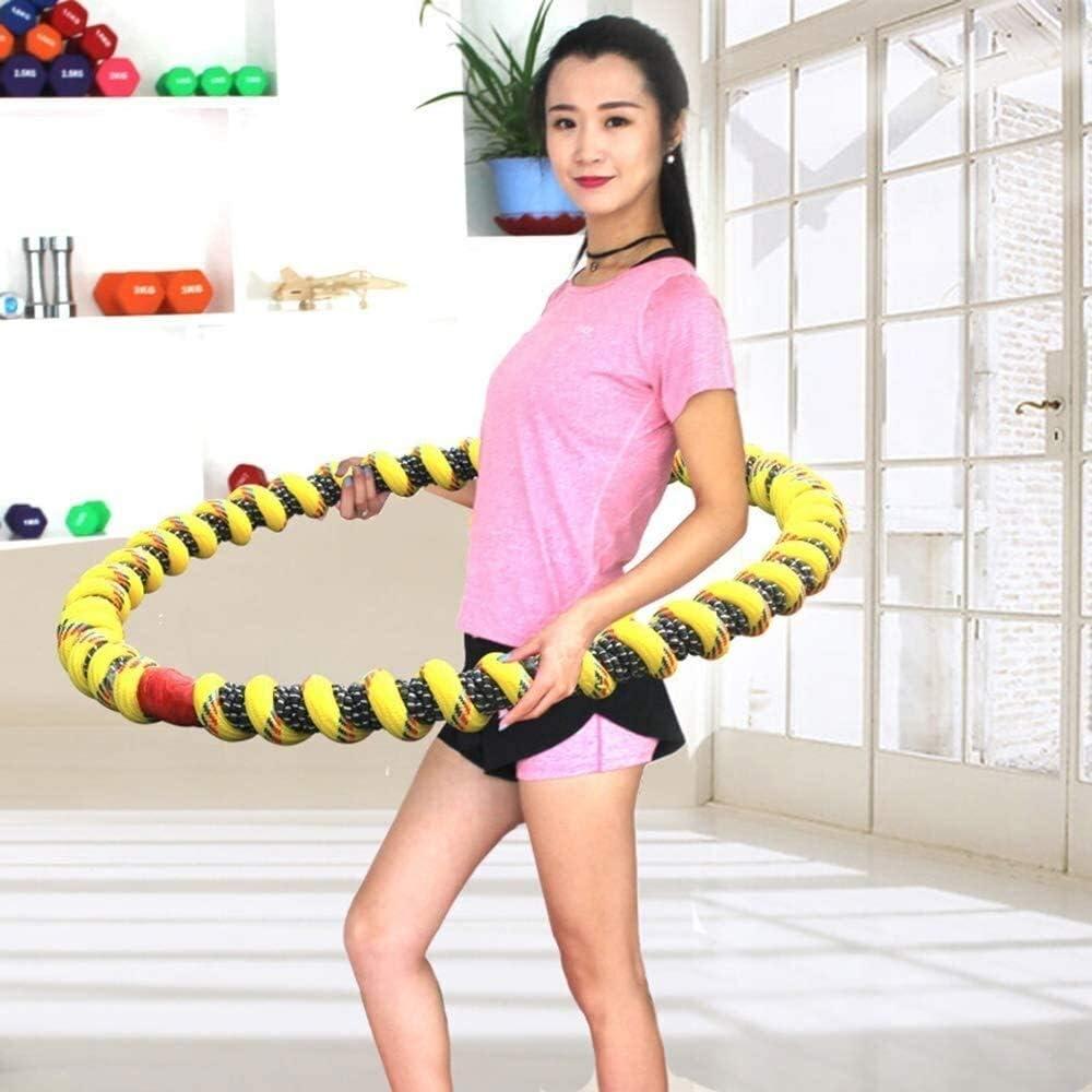 mit welligem Ridges Hula-Ring for M/änner und Frauen Fitness-/Übungs-Hula Hoops Weighted Cfbcc Outdoor Life Fitness Trainingsreifen Gewichtsverlust Trim Hoop Gro/ß