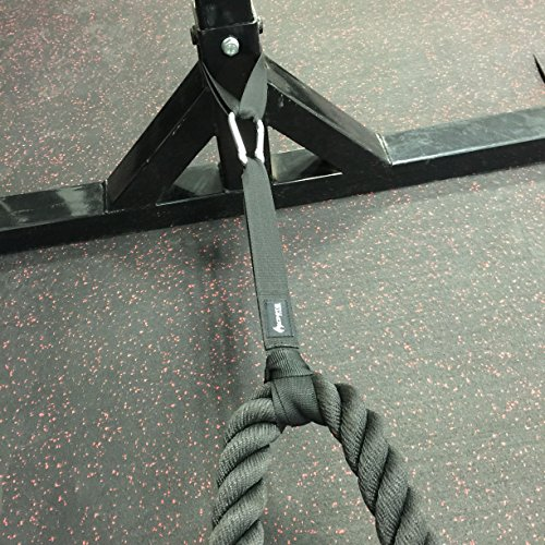 how to use battle rope train