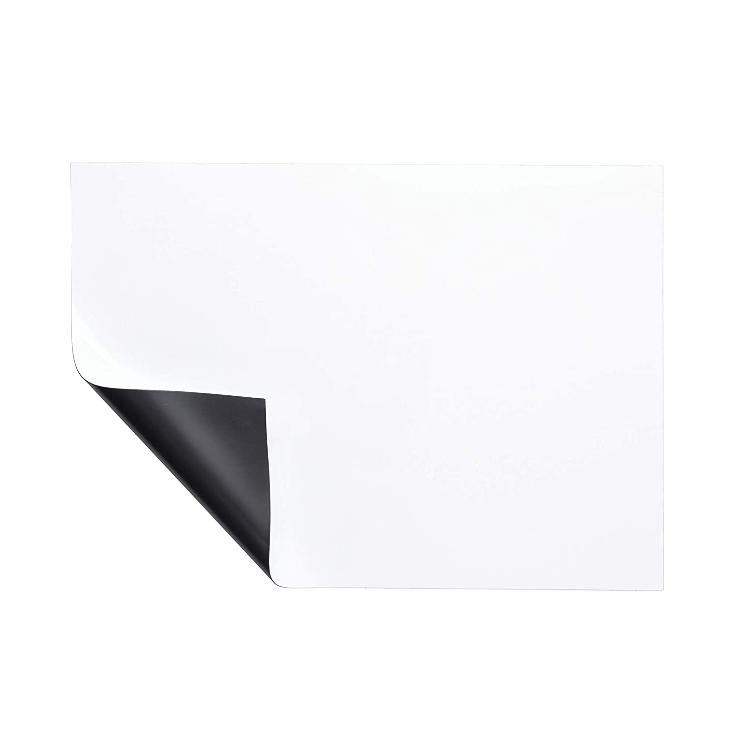 """Bluecell 11.75 x 8.3"""" A4 Size Magnetic Soft Whiteboard White Board Sticker for Home and Office Fridge Refrigerator Writing Notes and Reminders"""