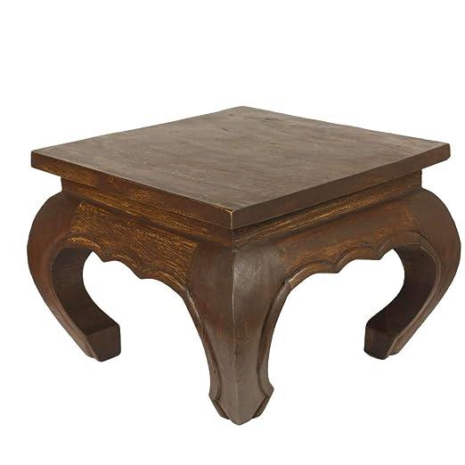 Opium mesa Opium - Mesa auxiliar madera maciza - Mesa noche mesa ...