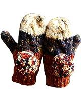 Handmade Lovely Gloves Women Winter Gloves Warm Knitted Wool Gloves,Blue