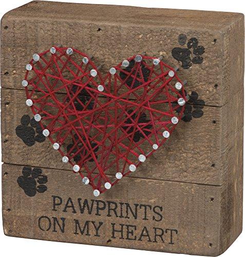 String Art - Pawprints SIZE: 4.50