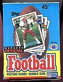 1989 Topps Football Card Set Wax Pack Box Joe Montana Jerry Rice NFL CASE FRESH