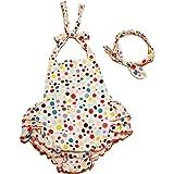 Amazon.com: Mud Pie Baby-Girls Newborn Lion Swimsuit: Clothing