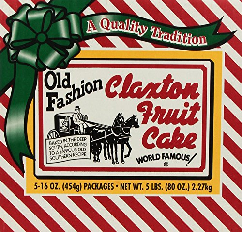 Fruit Cake 5 - 1 Lb Dark Recipe Claxton Fruitcakes