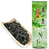 FullChea - Natural Alishan Oolong Tea Loose Leaf - Formosa Oolong High Mountain Tea - Taiwan Gaoshan Ulong Tea - Taiwanese Gr
