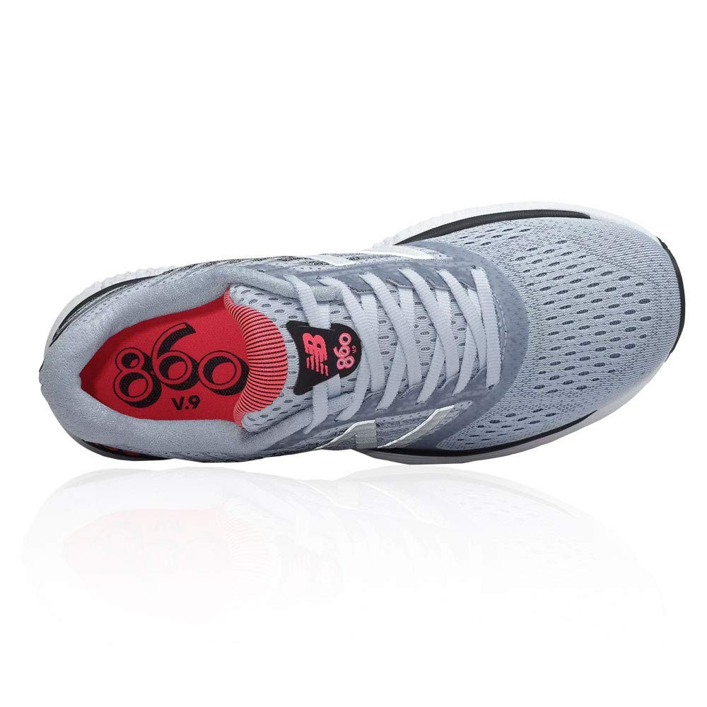 3aeb9e1f9f0 New Balance 860 v9 Womens D Width (WIDE) Road Running Shoes with Support  for Overpronation Ice Blue Pink Zing UK 5  Amazon.co.uk  Shoes   Bags