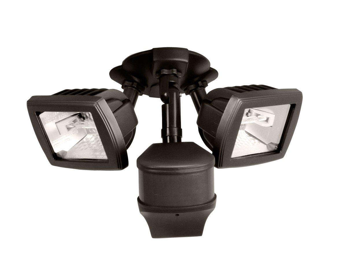All-Pro MS280D 270 Degree 200W Light type: Halogen Precision Plus Doppler Radar Motion Security Floodlight, Bronze