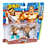 WWE Rumblers CM Punk and John Cena Figure 2-Pack