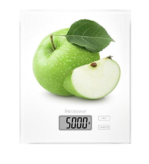 Medisana 40471 Ks 210 Kuchenwaage Apfel 22 40 X 18 40 X 1 70 Cm