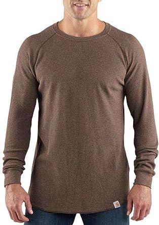 1d72a8cb235e Carhartt Men s Lightweight Thermal Knit Crewneck Slim Fit