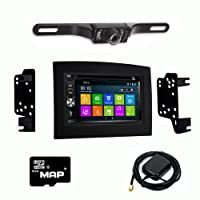 Otto Navi DVD GPS Navigation Multimedia Radio and Dash Kit for Dodge Ram 2002-2009 with Back up camera and extra