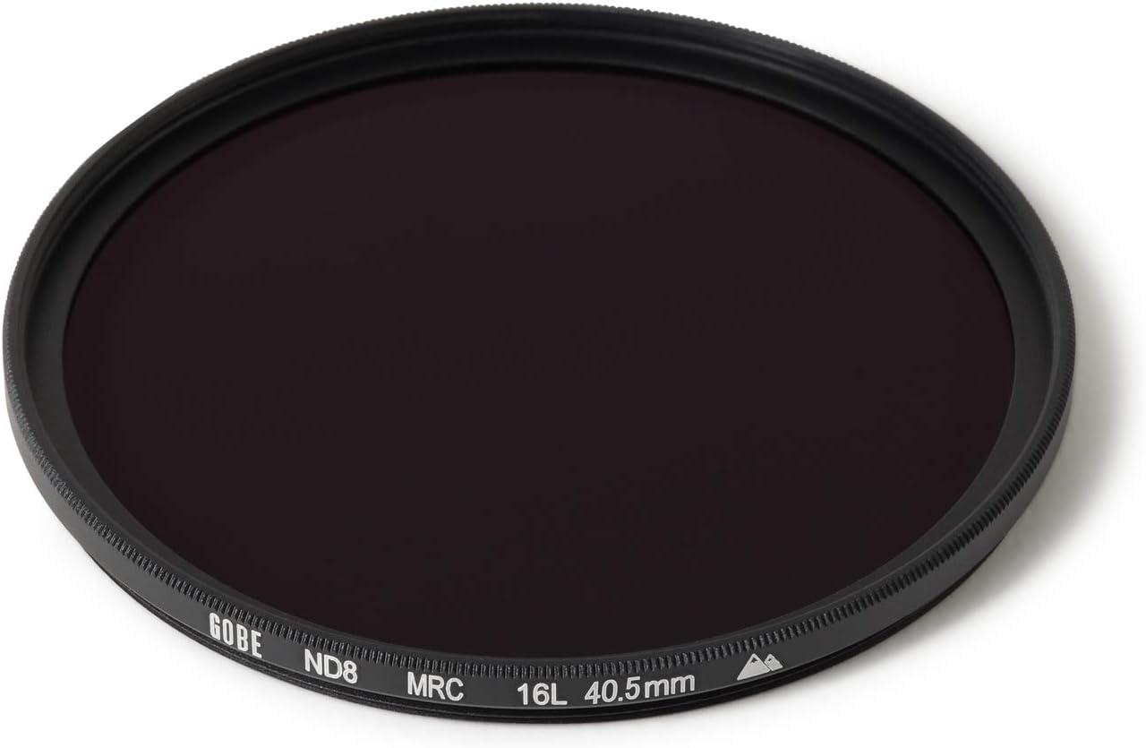 3 Stop ND Lens Filter Gobe 55mm ND8 2Peak