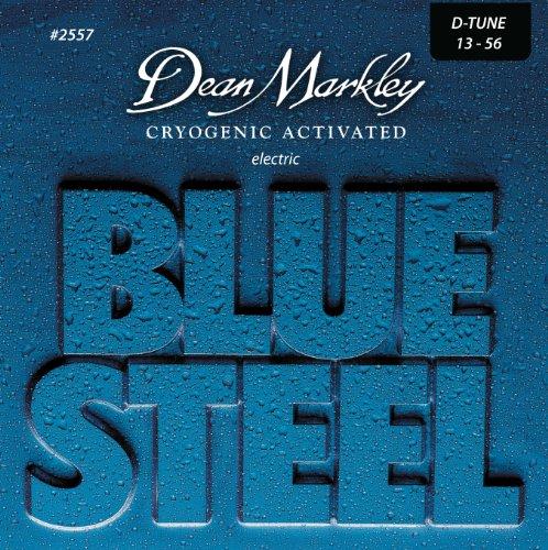 (Dean Markley Blue Steel Drop Tune Electric Guitar Strings, 13-56, 2557, Medium)