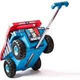 PUQU Monster Truck Design Kids Travel Suitcase Toddler Luggage With Wheels