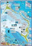 Eleuthera Island Bahamas Dive & Adventure Map Franko Maps