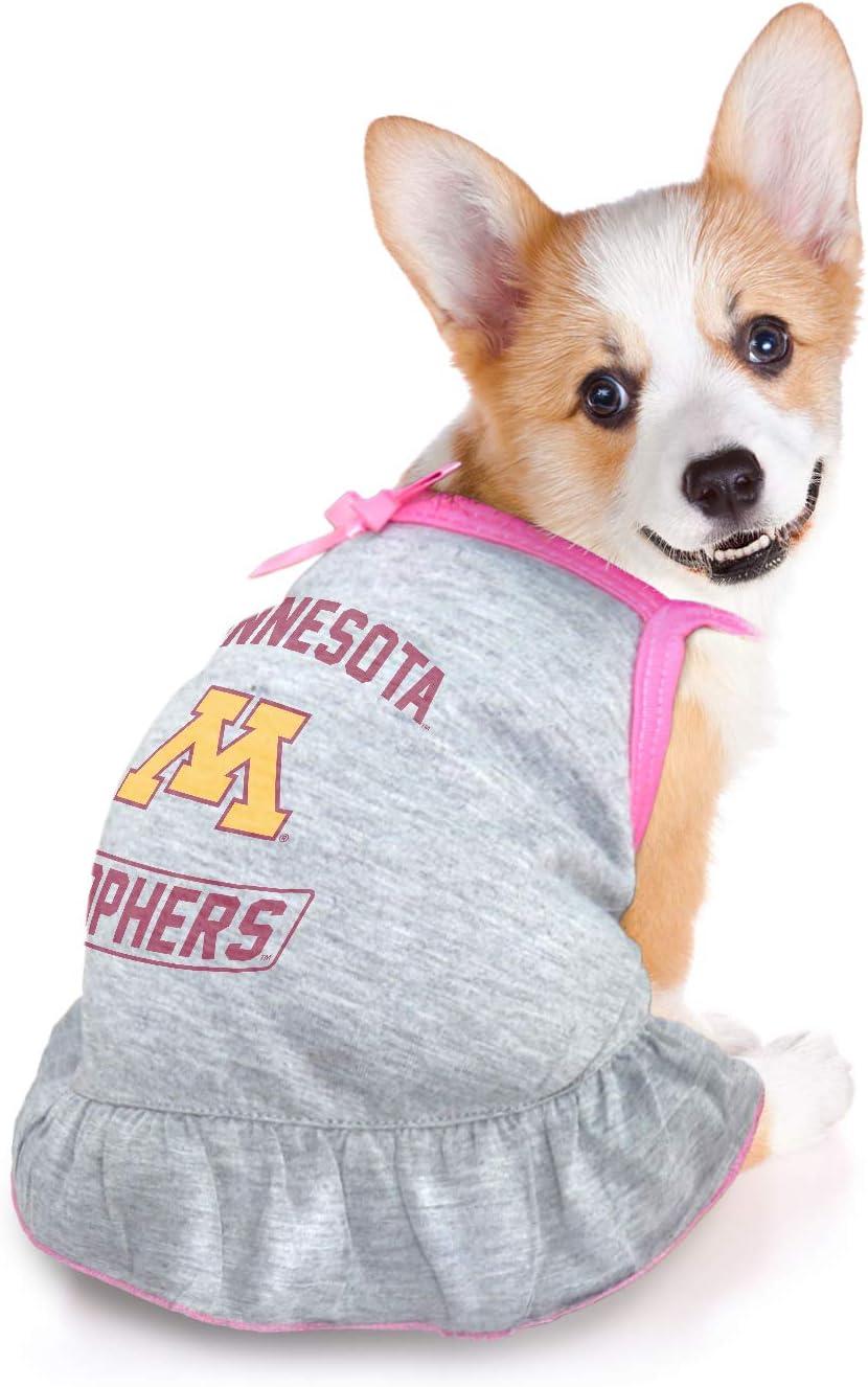 Medium Littlearth NCAA Minnesota Golden Gophers Pet Dress