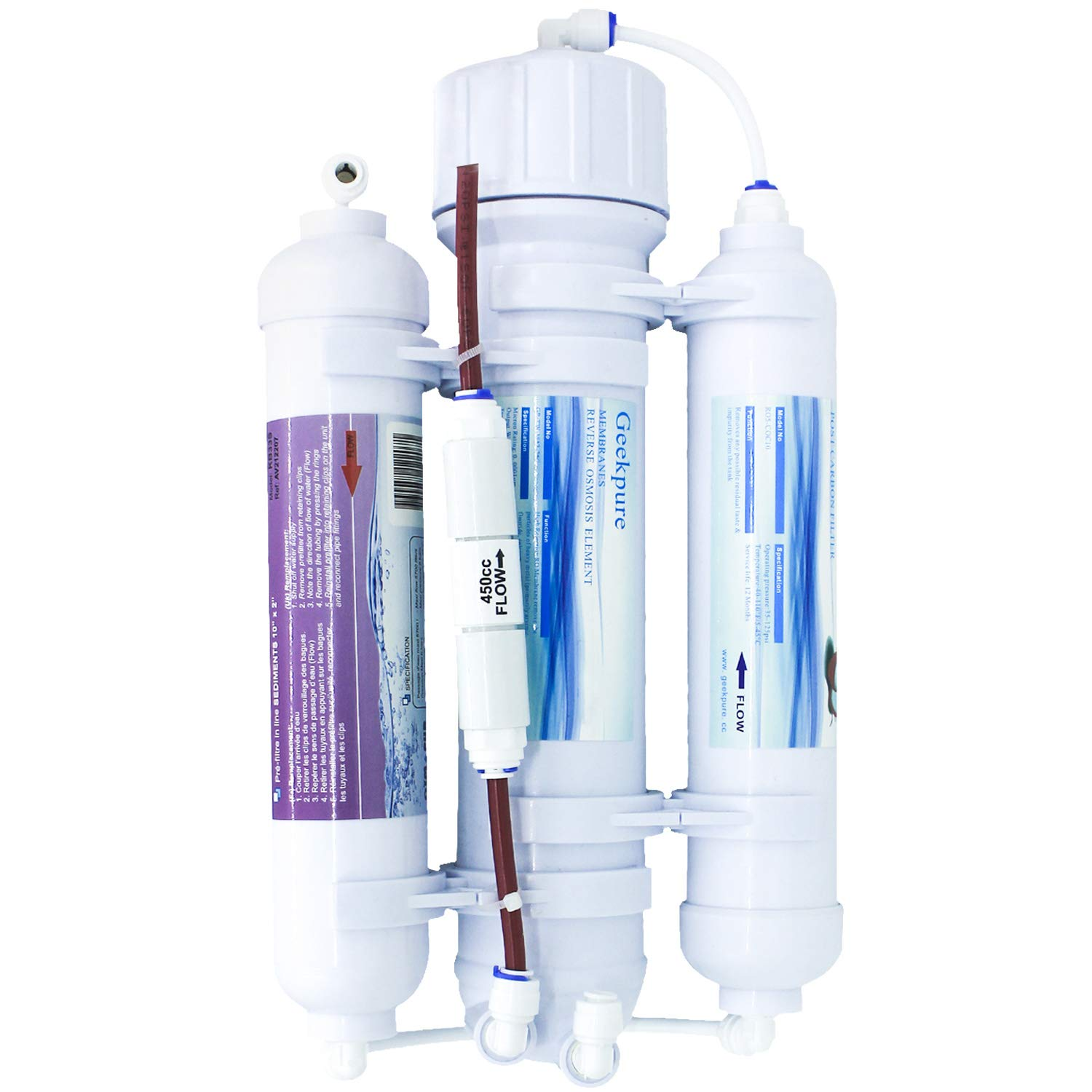 PURLETTE PL400G Tankless Reverse Osmosis System