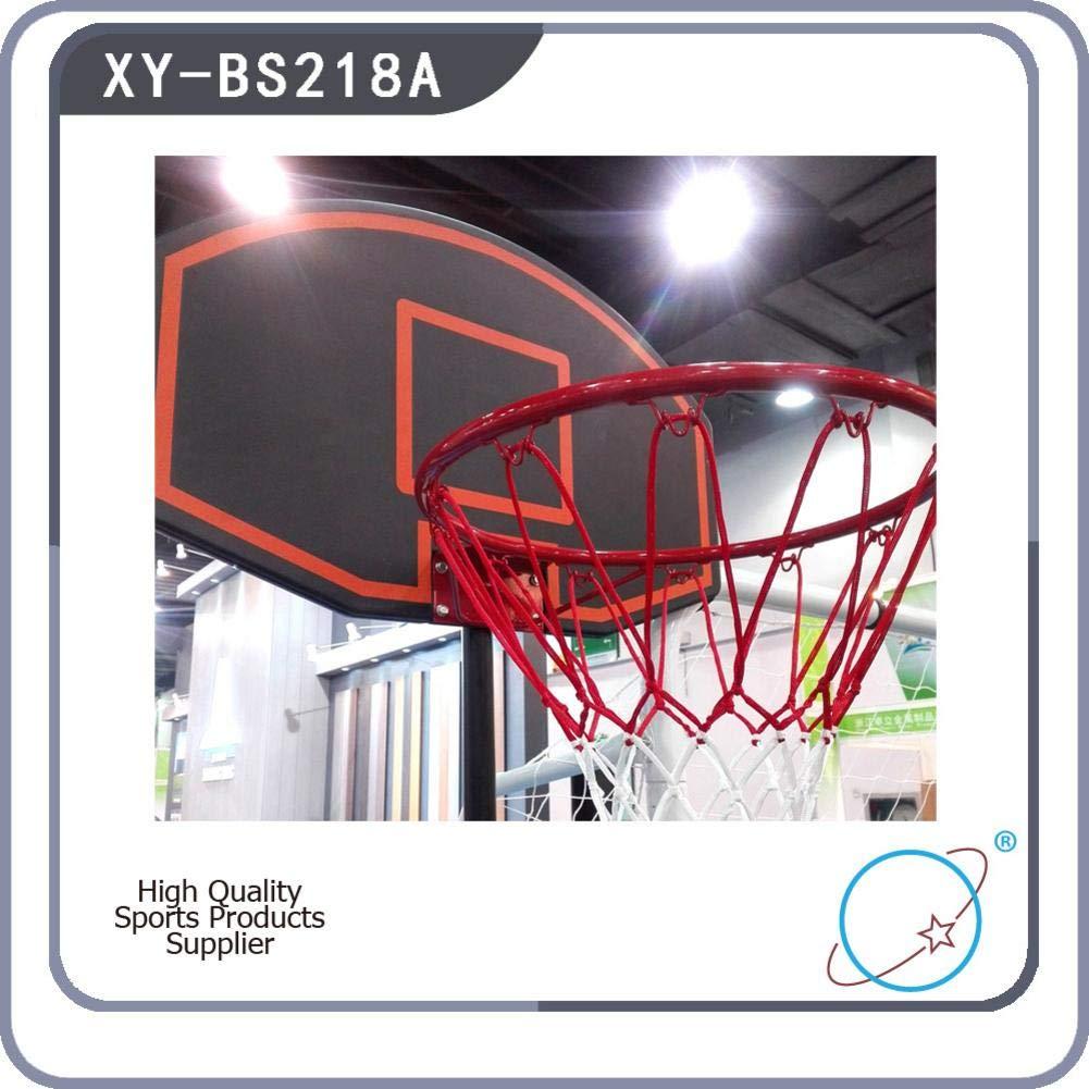 Bulary Black & Red Portable Removable Adjustable Teenager Basketball Rack by Bulary (Image #4)
