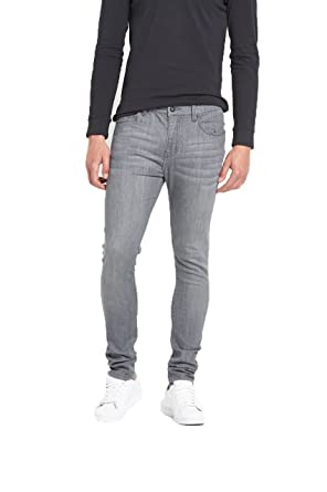 Goodsouls mens skinny stretch black jeans