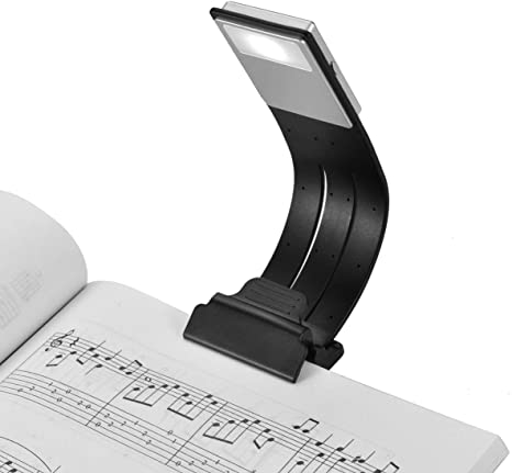 Rechargeable USB LED Book Light Reading Light Computers Clip-On Lamp Desk Lamp