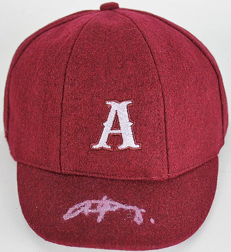 online store cfd8a a10dd Angus Young Authentic Signed  A  AC DC School Boy HAT CAP Autographed BAS