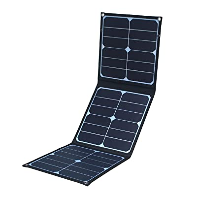 OmniSoleil Foldable 40W Solar Panel for Suaoki/Jackery Explorer 240 / Webetop/Goal Zero Yeti/Paxcess Station Generator and USB Devices : Garden & Outdoor