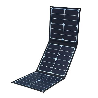 OmniSoleil Foldable 40W Solar Panel for Suaoki/Jackery Explorer 240 / Webetop/Goal Zero Yeti/Paxcess Station Generator and USB Devices : Garden & Outdoor