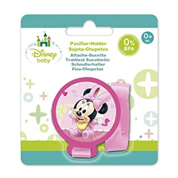 Amazon.com : Disney Minnie Baby Pacifier Holder : Office Products