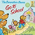 The Berenstain Bears Go To School (Turtleback School & Library Binding Edition) (Berenstain Bears (8x8))