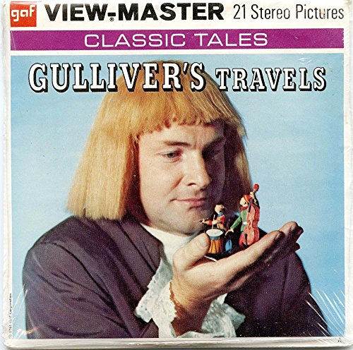 Classic ViewMaster - Gulliver's Travels - ViewMaster Reels 3D - unsold store stock - Never opened