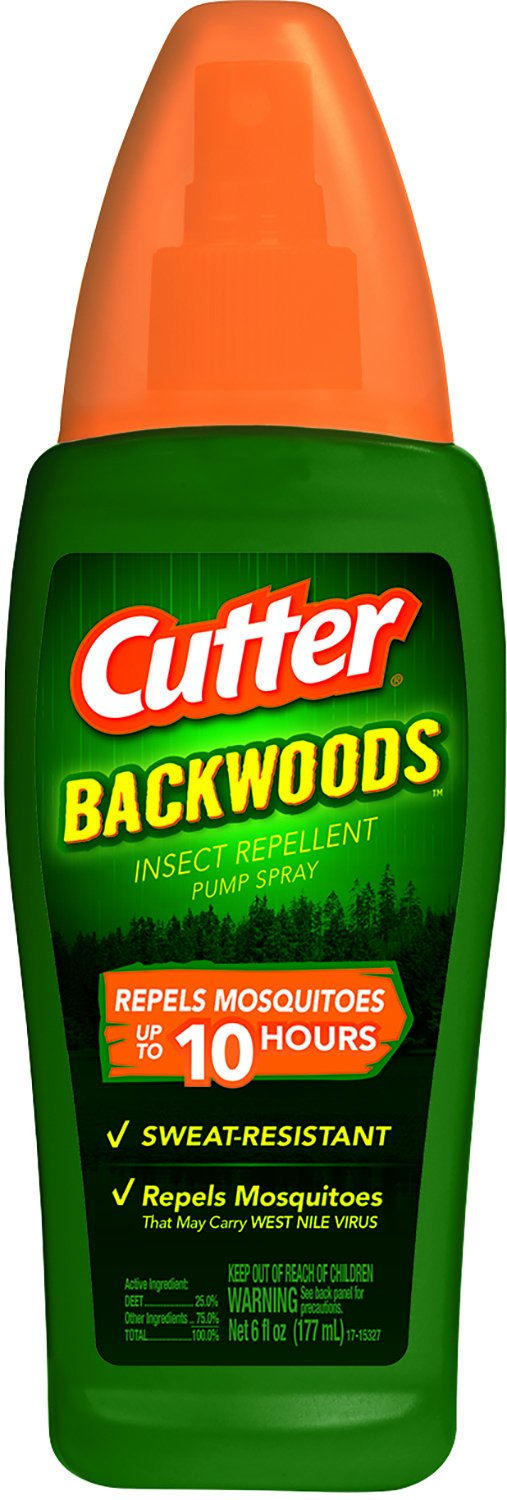 Cutter Backwoods Insect Repellent (Pump Spray) (HG-96284) (Pack of 12)