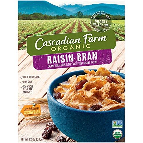 Organic Raisin Bran (Cascadian Farm Organic Raisin Bran, 12 oz)