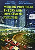 img - for Modern Portfolio Theory and Investment Analysis book / textbook / text book