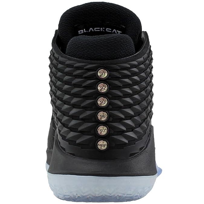 cheaper 05833 edd7c Amazon.com   Air Jordan XXXII Men s Basketball Shoes Black Multicolor aa1253 -003 (8 D(M) US)   Basketball