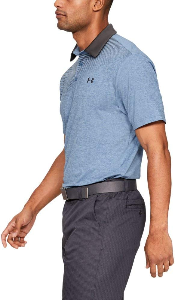 Under Armour Herren Playoff 2.0 atmungsaktives Sportshirt komfortables und kurz/ärmliges Funktionsshirt mit loser Passform
