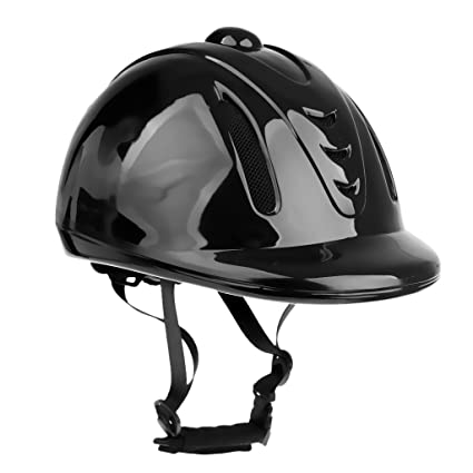 a55f30deb6e Segolike Adjustable Equestrian Helmet Safety Horse Riding Hat Head  Protective Gear Riding Equipment Black - black