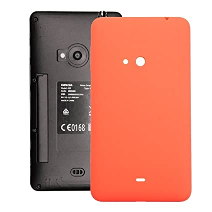 8a3da1c79 Amazon.com  Replacement Parts New for Nokia Lumia 625 Housing Battery Back  Cover with Side Button Repair Broken Cellphone. (Color   Orange)   Electronics